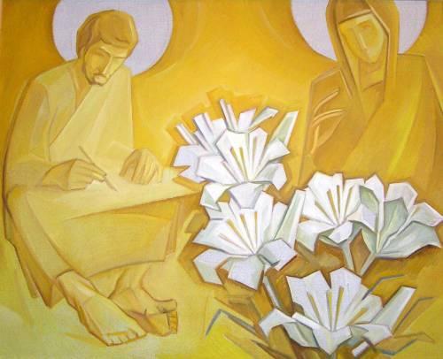 Святой Лука. 2003. Х.м. 64х80