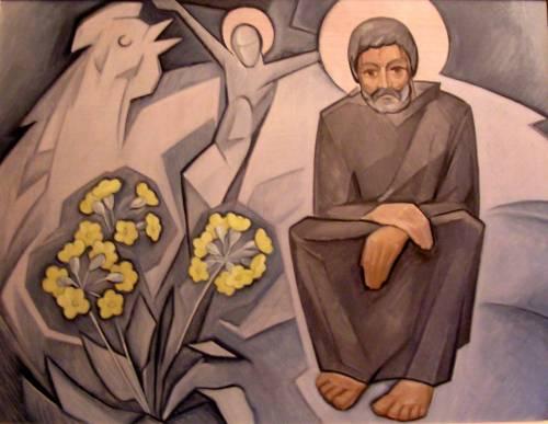 Святой Петр.  2004. К.м.  64х85